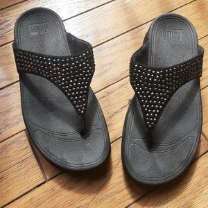 FitFlops sparkly thongs